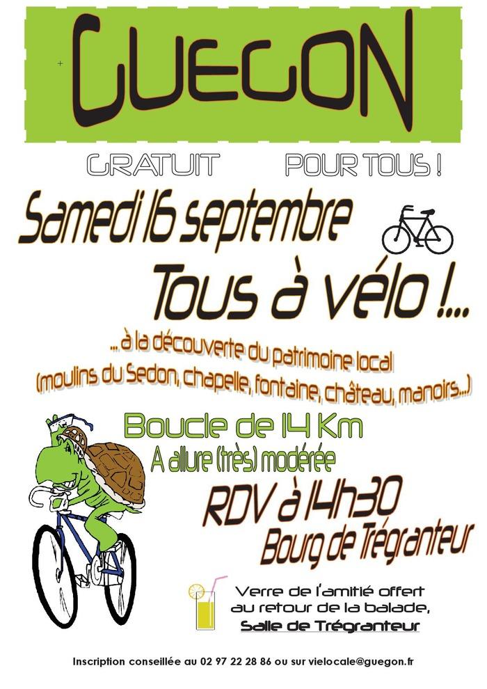 Journées du patrimoine 2017 - Balade vélo-patrimoine