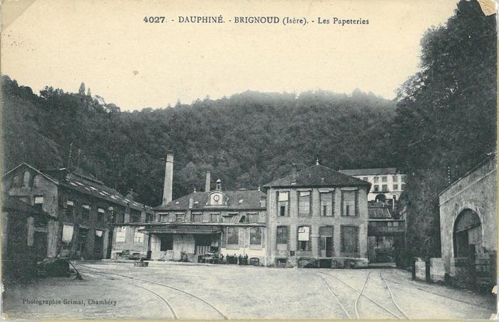 Journées du patrimoine 2018 - Balade autour de l'histoire industrielle de Brignoud.
