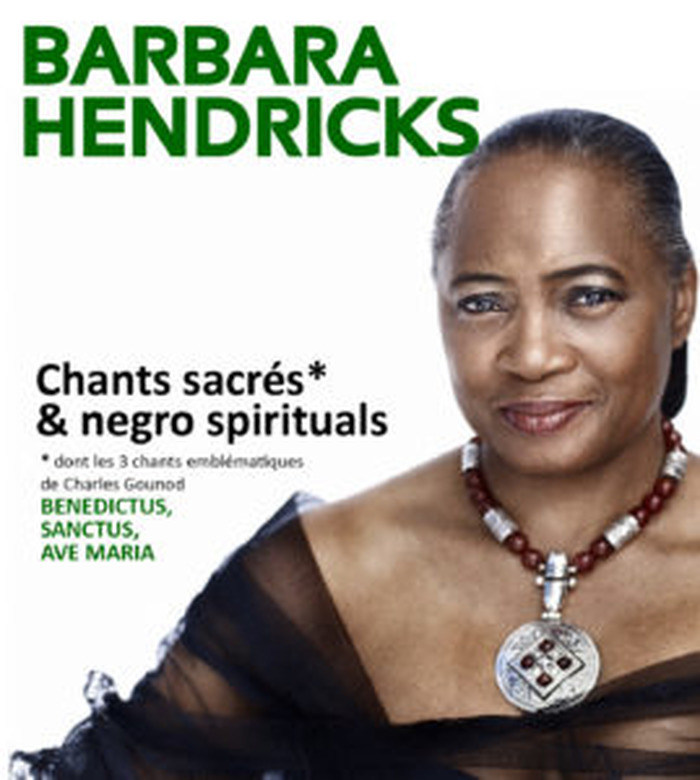 Barbara Hendricks - Récital Exceptionnnel le 22 février 2020 20h30 au Pin Galant