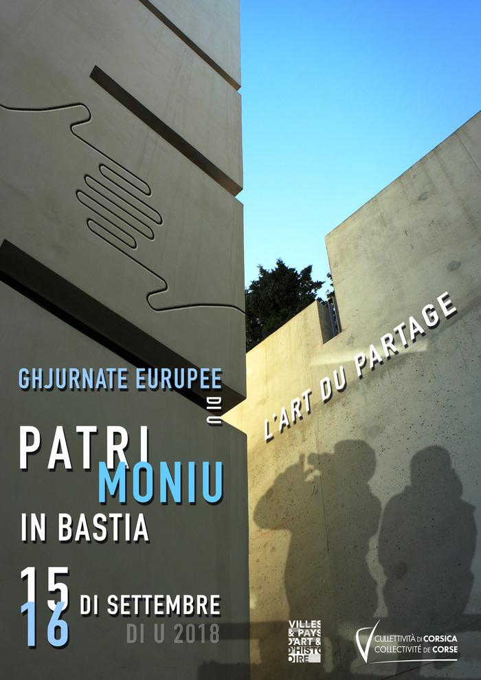 Journées du patrimoine 2018 - Bastia pendant la seconde guerre mondiale