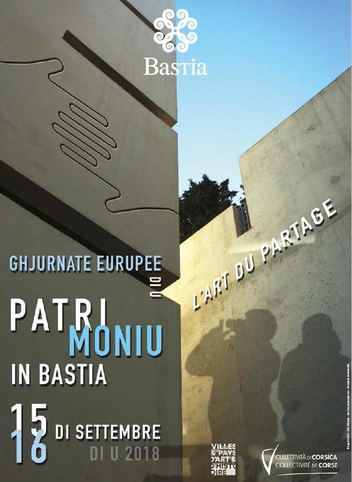Journées du patrimoine 2018 - Bastia Ville Européenne