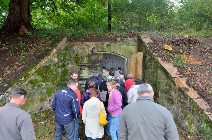 Journées du patrimoine 2019 - Visite des fossés de la citadelle, du glacis et de la Lunette 10