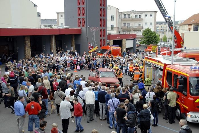 Journées du patrimoine 2018 - Le Bi-centenaire des Sapeurs-Pompiers à Forbach.