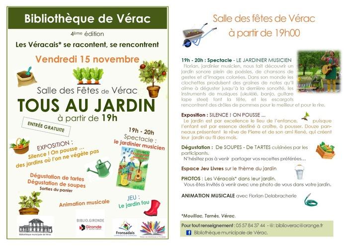 Bibliothèque de Vérac  - 4ème édition