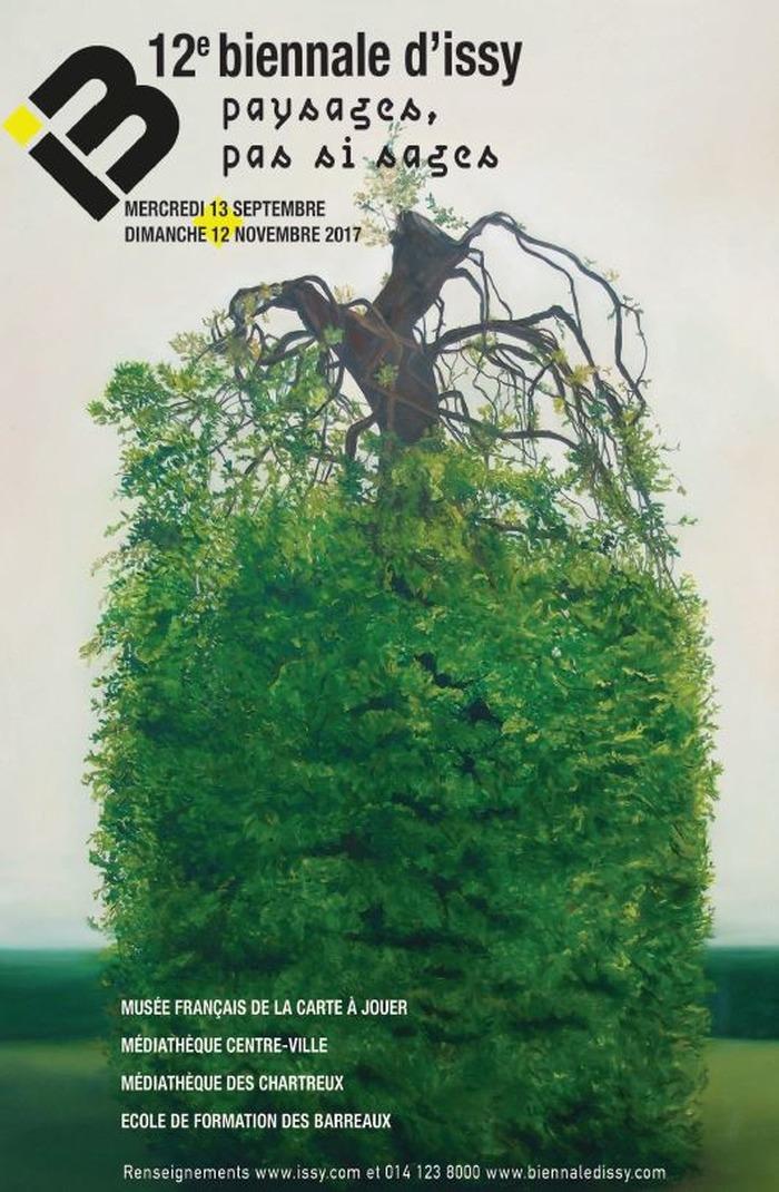 Journées du patrimoine 2017 - Vernissage de la Biennale d'Issy : Paysages, pas si sages