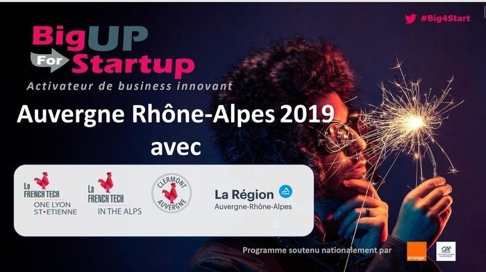 BigUP for startup Auvergne Rhône Alpes