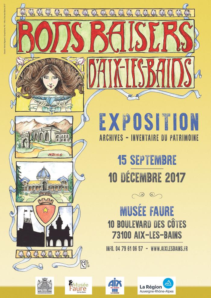 Journées du patrimoine 2017 - Bons baisers d'Aix-les-Bains