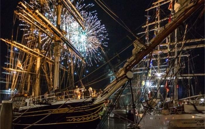Bordeaux fête le Vin accueille les grands voiliers