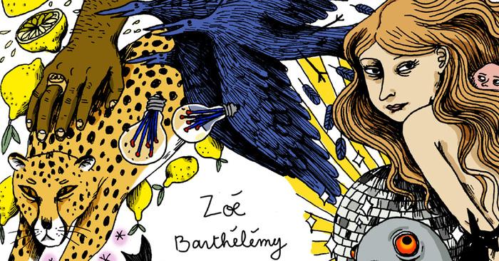 Bourse Tignous : exposition de Zoé Barthélémy