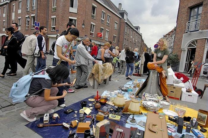 Braderie à Lille