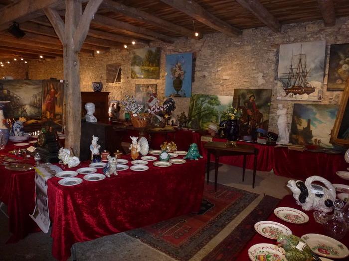 Journées du patrimoine 2018 - Brocante des châteaux en Quercy