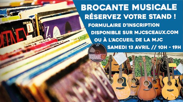 BROCANTE MUSICALE DU DISQUAIRE DAY