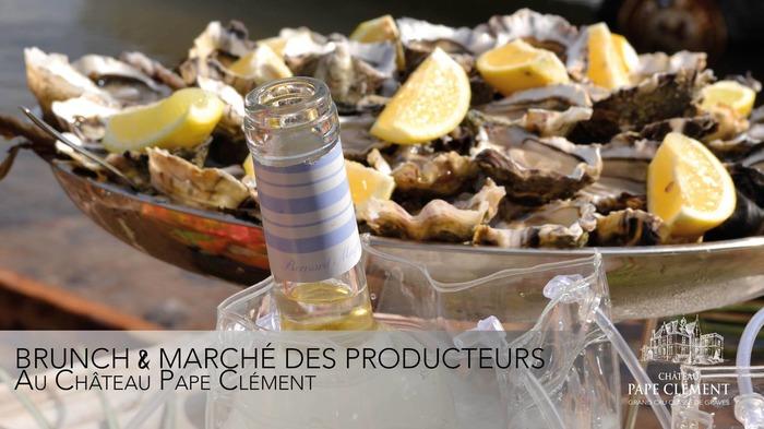 Brunch des Producteurs au Château Pape Clément