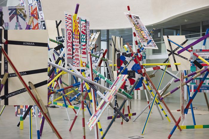 Building Site, Cinq installations de Richard Niessen