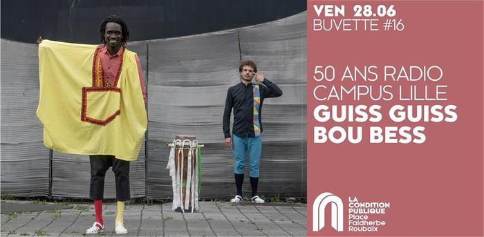 Guiss Guiss Bou Bess - Concert gratuit pour les 50 ans Radio Campus Lille
