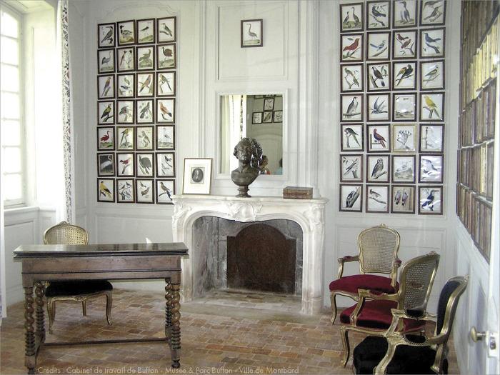 Journées du patrimoine 2018 - Cabinet de Travail de Buffon