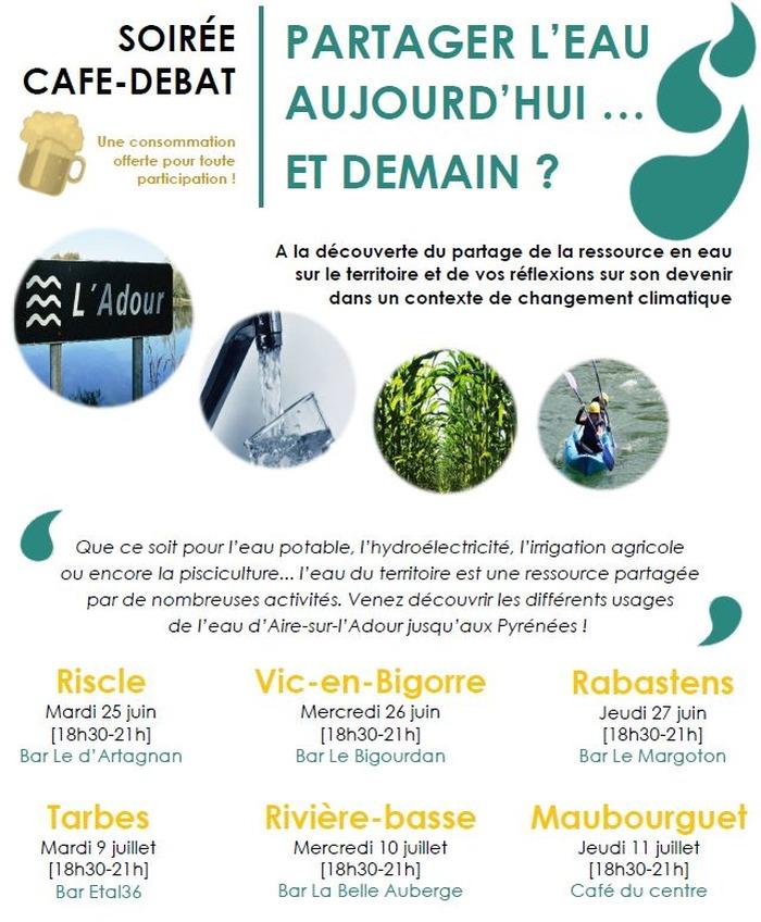 Café-Débat - Partager l'eau aujourd'hui et demain