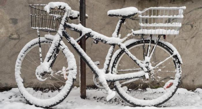 Café vélo : Le vélo en hiver.