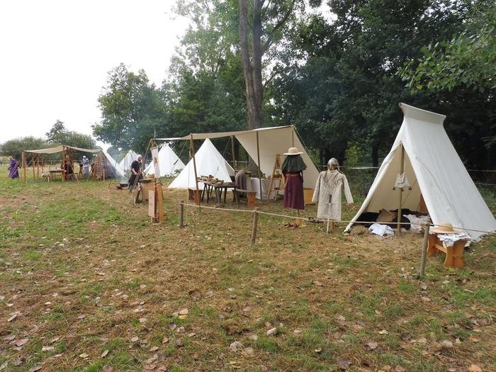 Journées du patrimoine 2018 - Camp médiéval et démonstrations par la compagnie Nocte Tenebris