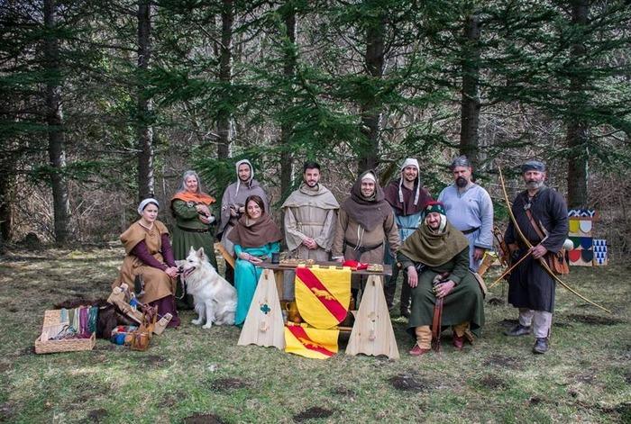 Journées du patrimoine 2018 - Ateliers et campement médiévaux