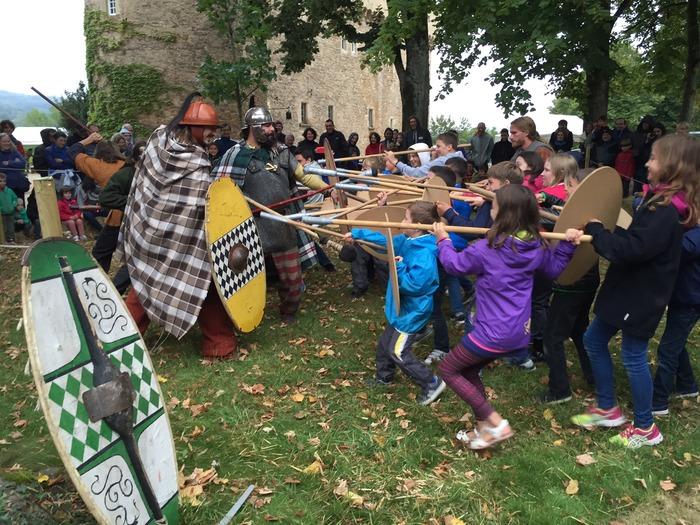 Journées du patrimoine 2018 - Atelier, démonstration, savoir-faire : Campement gaulois de la Lance Arverne