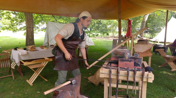 Journées du patrimoine 2018 - Campement médiéval sur le site de Libdeau