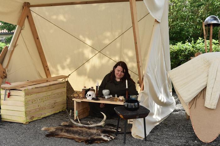 Journées du patrimoine 2017 - Campement viking