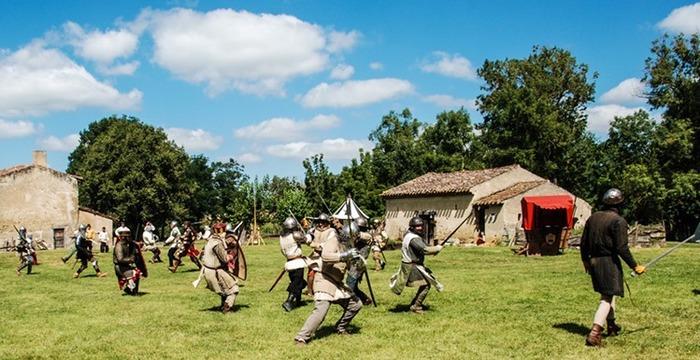 Journées du patrimoine 2018 - Visite libre d'un camps médiéval et d'une ferme médiévale