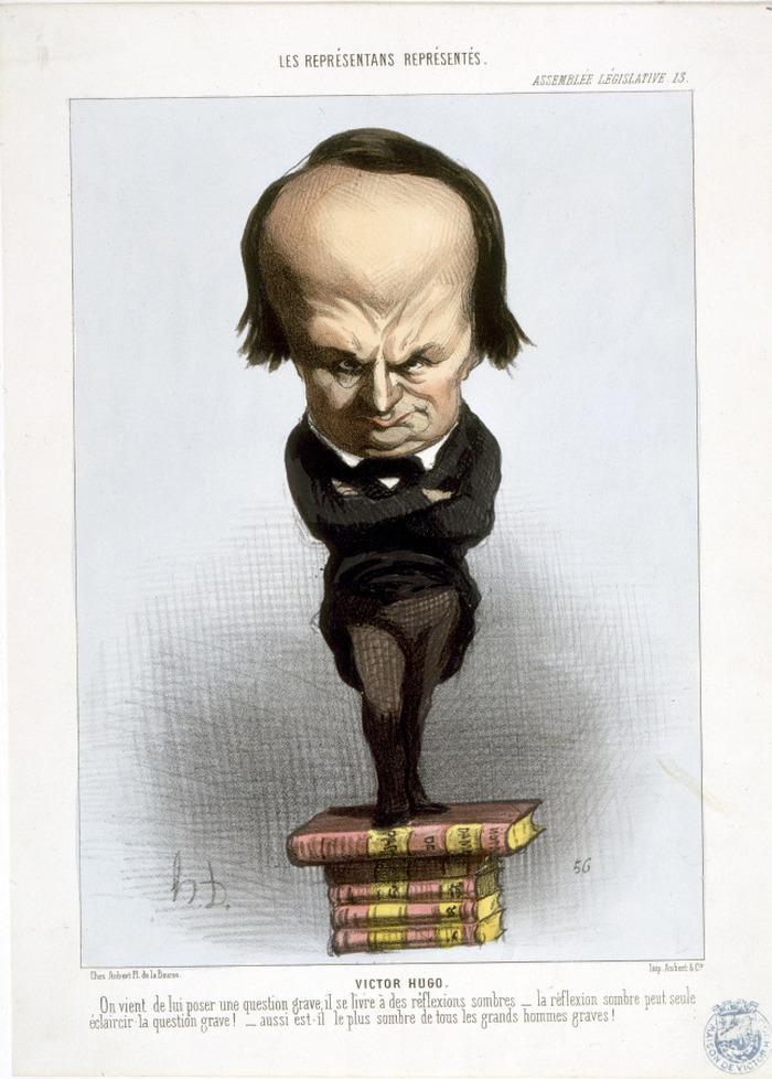 Journées du patrimoine 2018 - Caricatures, Hugo à la Une