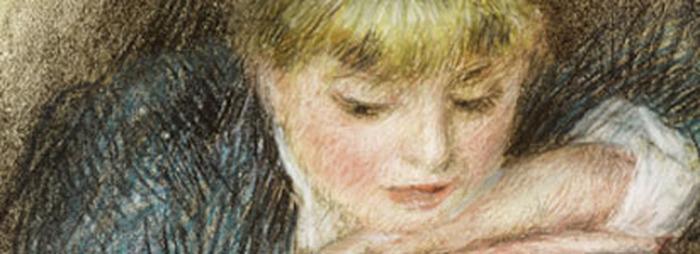 Crédits image : Fondation Bemberg- Pierre Auguste Renoir, La loge (Portrait de jeune fille) - XIXe s. - Pastel sur papier marouflé sur panneau