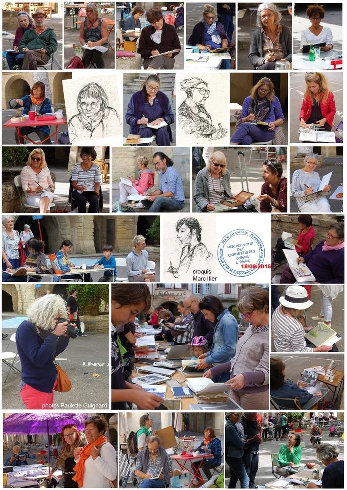 Journées du patrimoine 2018 - Exposition de carnets de voyage et livres d'artistes