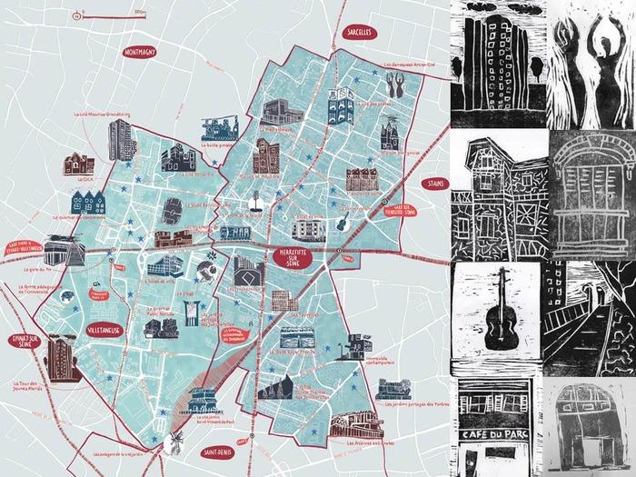 Journées du patrimoine 2018 - Carte Commune : Saurez-vous reconnaître les villes de Plaine Commune ? / Exposition