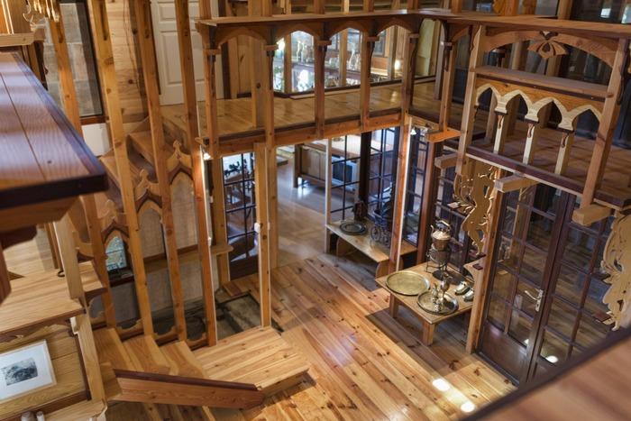 Journées du patrimoine 2018 - Visite libre ou guidée de la cathédrale de dentelles de bois