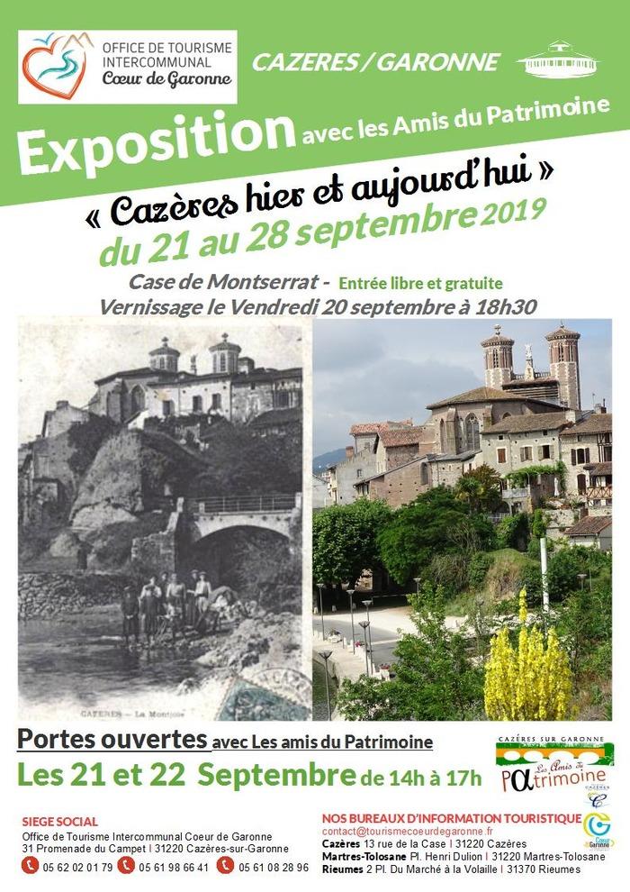 Journées du patrimoine 2019 - Cazères, d'hier et d'aujourd'hui