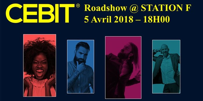 CEBIT Roadshow @ STATION F