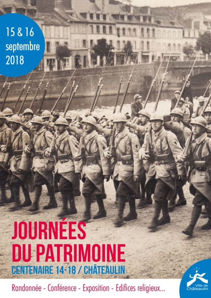 Journées du patrimoine 2018 - Centenaire 14-18 / Châteaulin
