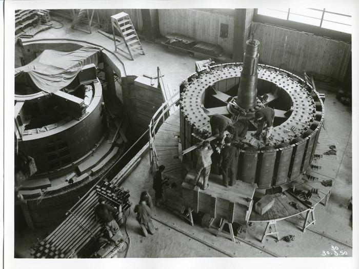 Crédits image : ©EDF – Henri Baranger, 30 mai 1950