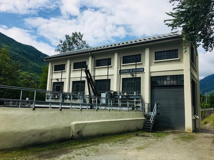 Journées du patrimoine 2018 - Centrale hydroélectrique Alpes Hydro Association de La Christine.
