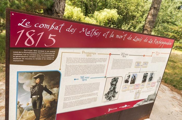 Journées du patrimoine 2019 - Champ de Bataille des Mathes