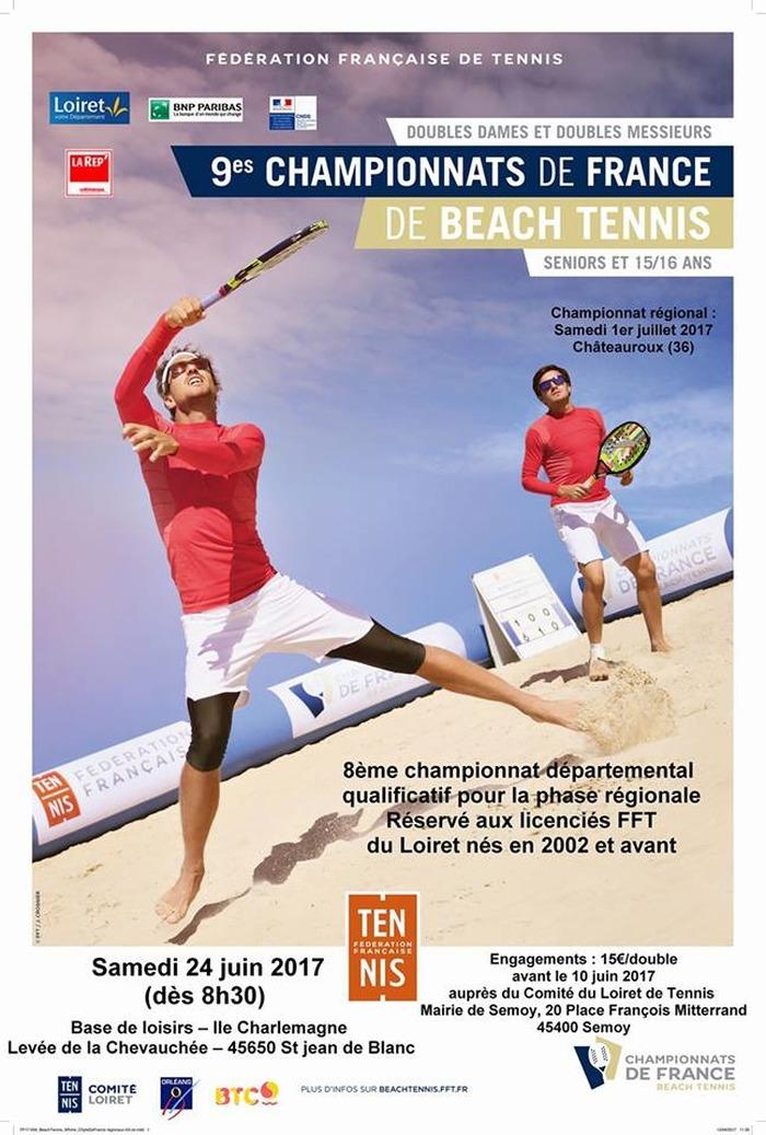 Championnat départemental de beach tennis