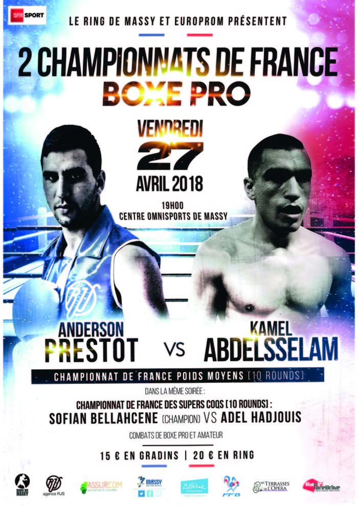 Championnats de France Boxe Pro