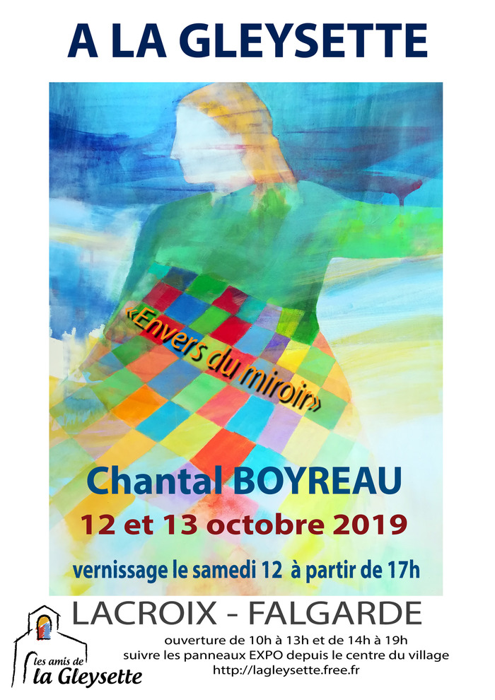 Exposition de peinture de Chantal Boyreau