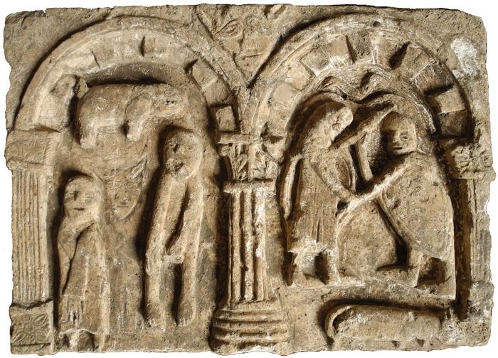 Journées du patrimoine 2017 - Chantier d'archéologie dans l'ancienne abbaye Saint-André-le-Haut, Vienne (Isère)