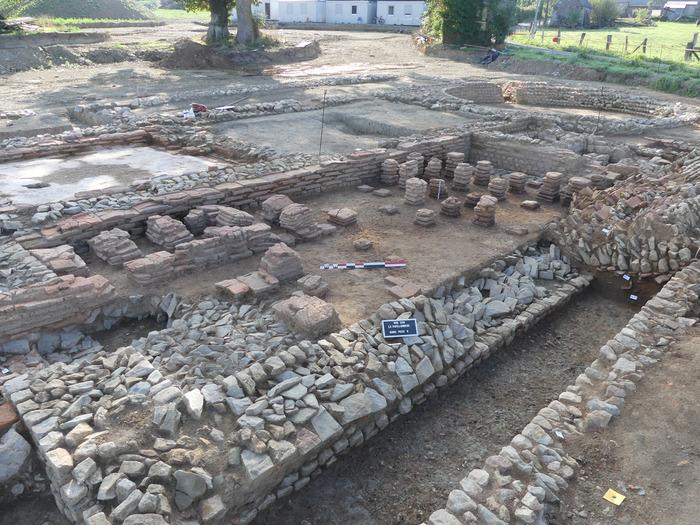 Journées du patrimoine 2018 - Visites commentées par les archéologues de la partie thermale d'une villa gallo-romaine