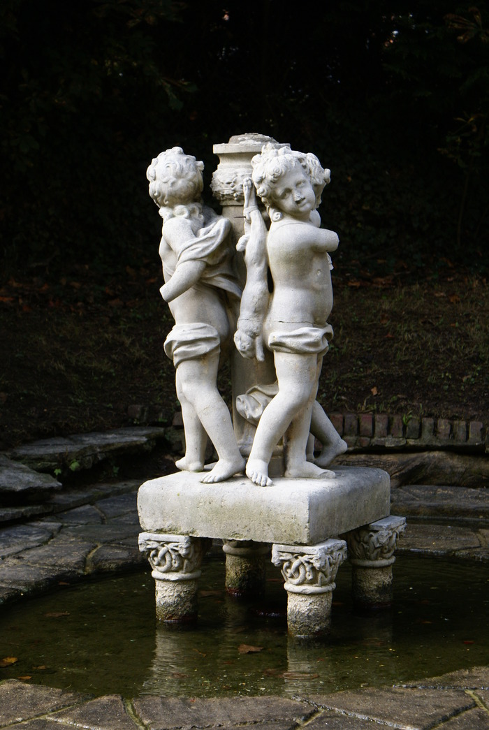 Journées du patrimoine 2018 - Chantier de restauration des statues du parc