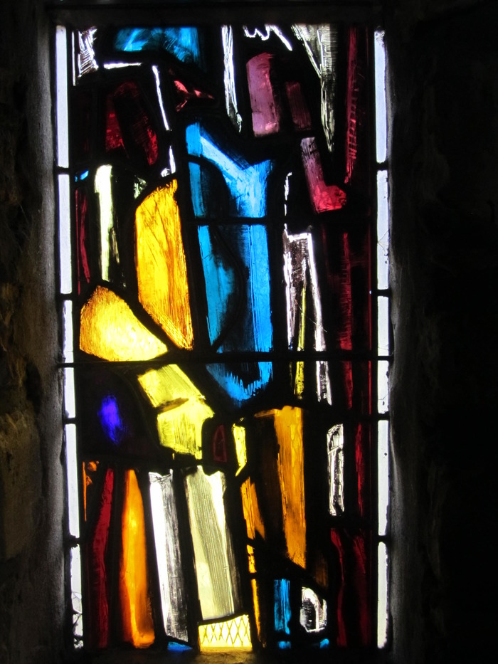 Journées du patrimoine 2018 - Chapelle Notre Dame des sans logis et de tout le monde - présentation des vitraux