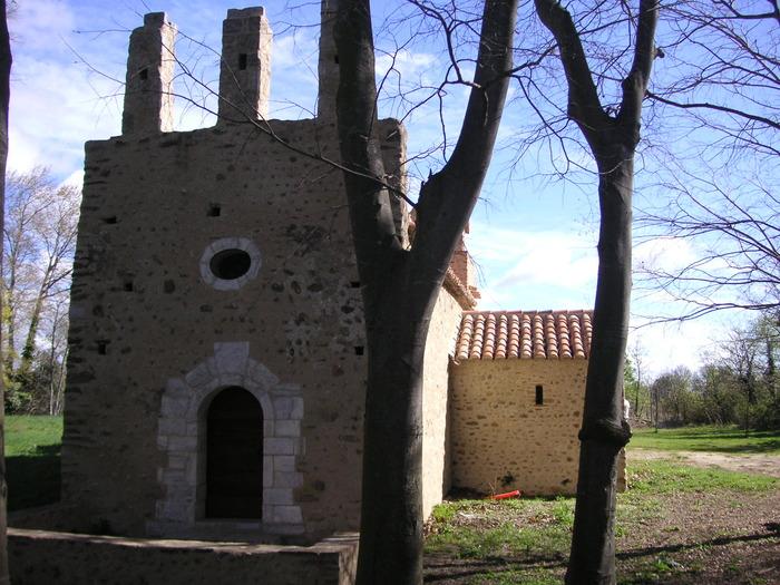 Journées du patrimoine 2017 - Chapelle Sainte-Colombe de Cabanes