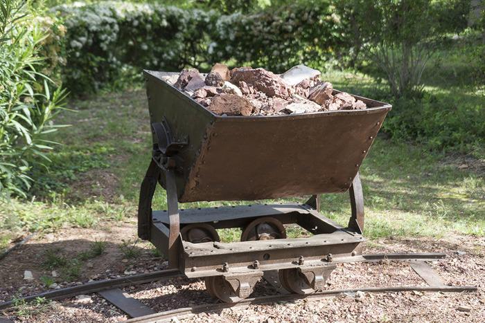 Journées du patrimoine 2018 - Chariot de bauxite de Pierrerue