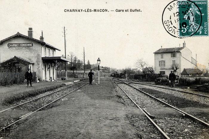 Journées du patrimoine 2018 - Charnay-Condemine : l'histoire d'une gare
