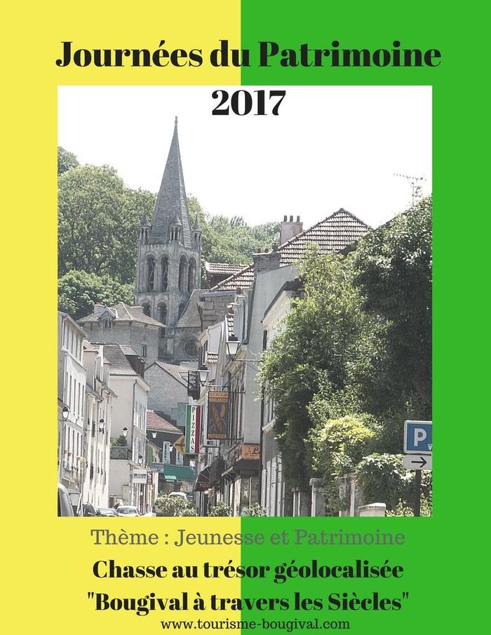 Journées du patrimoine 2017 - Chasse au trésor géolocalisée
